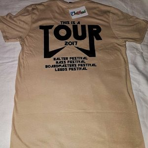 Patched Tour T Shirt Exclusive